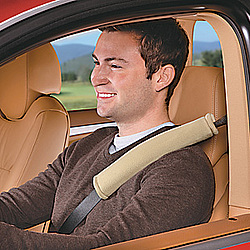 Microfiber & Memory Foam Seatbelt Pad