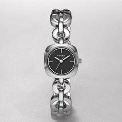 Women's Three Hand Black Dial Watch