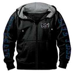 Open Road Men's Fleece Biker Hoodie