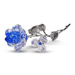 Milano Crystal Blue Rose
