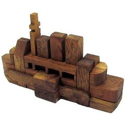 The Titanic Kumiki Wooden Puzzle