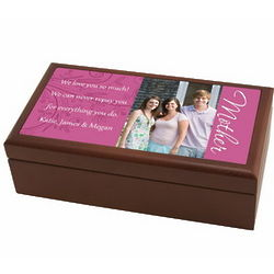 Mother's Photo Personalized Box