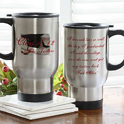 Personalized Graduation Travel Coffee Mug