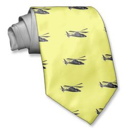 Customized Helicopter Tie