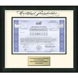 Dish Network Stock Certificate