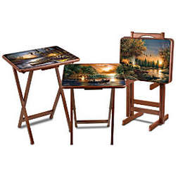 Terry Redlin Artistic Tray Tables