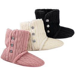 Women's Sweater Knit Booties