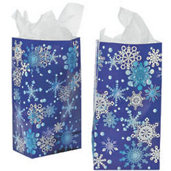 Paper Snowflake Bag Set