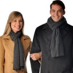 Unisex Cashmere Knitted Scarf