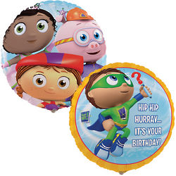 Super Why! Foil Party Balloon