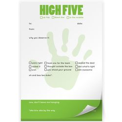 High Five Praise Pad