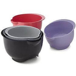 3 Plant-Based Plastic Kitchen Bowls