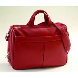 Leather Laptop Brief Bag