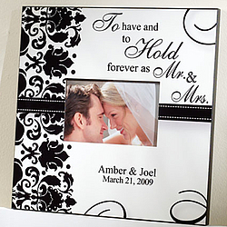Personalized To Have and To Hold Frame