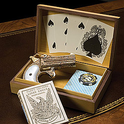 Doc Holiday Gamblers Box Set with Replica Firearm