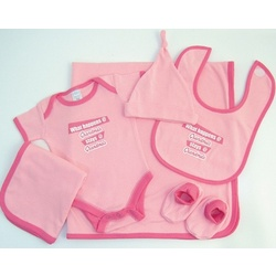 Baby Girl's Good Fortune Grandma Gift Set