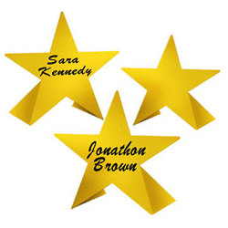 Star Place Cards