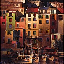 Mediterranean Gold Canvas Print