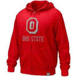 Ohio State Buckeyes Applique Full Zip Hoody
