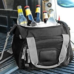 Back in Black Portable Cooler Tote