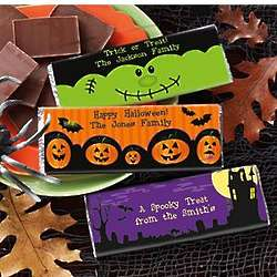 Personalized Halloween Candy Wrappers