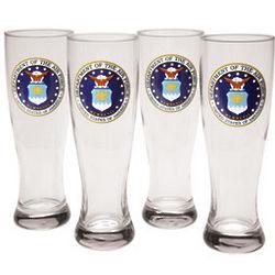Air Force Pilsner Glasses