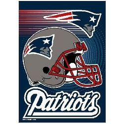 New England Patriots Garden Flag