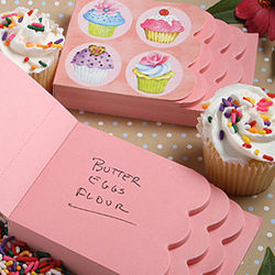 Cupcake Design Notepad