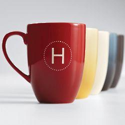 Block Font Personalized Mug