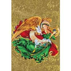 Musical Angel Christmas Cards Set