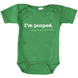 I'm Pooped Baby Bodysuit