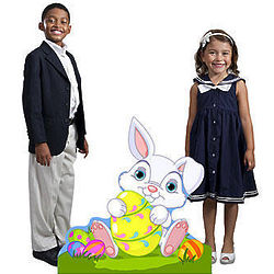 Easter Bunny Standee