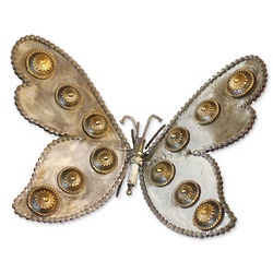 Beautiful Butterfly Recycled Auto Part Sculpture