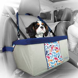 Color Splash Dog Booster Car Seat