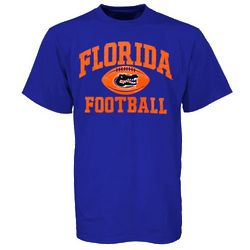 Florida Gators Royal Blue Old School Football T-Shirt