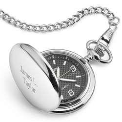 Carbon Fiber Pocket Watch