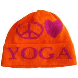 Kids Peace Love Custom Knit Hat