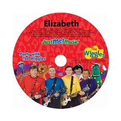 Personalized Wiggles Music CD