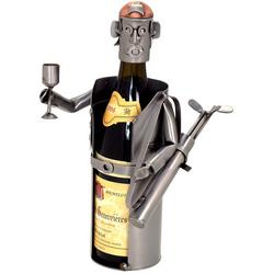 Male Golfer Wine Bottle Holder