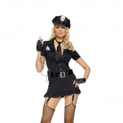 Sexy Dirty Cop Costume