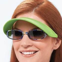 Vizini® Totally Strapless Sun Visor