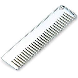 Personalized Solid Sterling Silver Baby Comb
