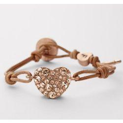 Glitz Heart Bracelet