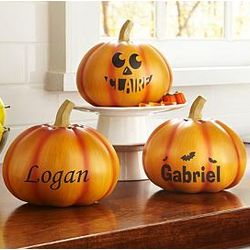 Personalized Large Pumpkin