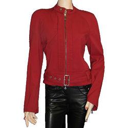Women's Italian Red Wool Jacket