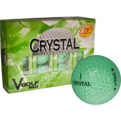 Personalized Green Soft Feel Golf Balls