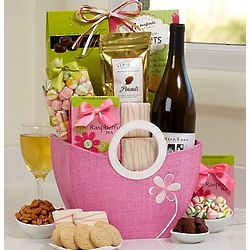 Spring Wine Escape Gift Basket