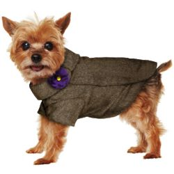 Dog's Tweed Coat