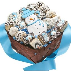 Winter Wonderland Holiday Cookie Basket
