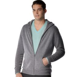 Men's Pure Cashmere Hoodie